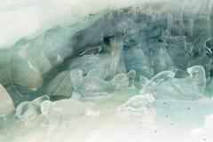 Palazzo del ghiaccio del tunnel Immagine Stock Libera da Diritti