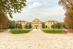 Palazzo Del Governatore, Parma Stockfotos