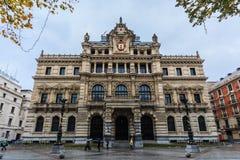 Palazzo del governo provinciale di Biscaglia Immagini Stock Libere da Diritti