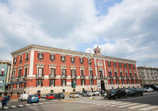 Palazzo del Governo or Town Hall in the center of Bari, Italy. Royalty Free Stock Image