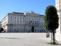 Palazzo del Governo, Trieste, Italie Image libre de droits