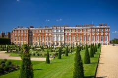 Palazzo del Hampton Court Immagini Stock