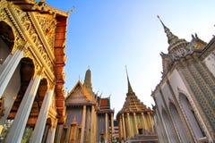 Palazzo del kaew di phra di Wat grande Fotografia Stock