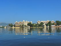 Palazzo del lago hotel Fotografia Stock