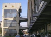 Palazzo del Lavoro in Turin Stock Photo