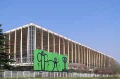 Palazzo del Lavoro in Turin Stock Images