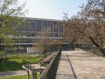 Palazzo del Lavoro in Turin Royalty Free Stock Photo