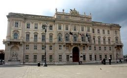 Palazzo del Lloyd Triestino Royalty Free Stock Photos