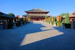 Palazzo del monarca di Fenyang fotografia stock libera da diritti