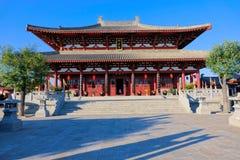 Palazzo del monarca di Fenyang fotografie stock libere da diritti