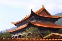 Palazzo del monastero del chongsheng Immagine Stock