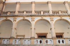 Palazzo del monastero in Jicin Fotografia Stock Libera da Diritti