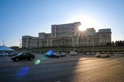 Palazzo del Parlamento Fotografie Stock Libere da Diritti