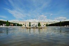 Palazzo del Petergof Fotografie Stock Libere da Diritti