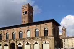 Palazzo del Podesta в болонья, Италии Стоковая Фотография