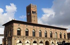 Palazzo del Podesta na Bolonha, Itália Fotografia de Stock Royalty Free