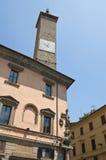 Palazzo del Podesta. Viterbo. Il Lazio. L'Italia. Immagine Stock Libera da Diritti