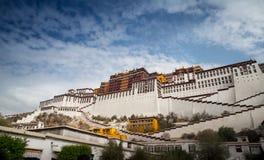 Palazzo del Potala, il patrimonio mondiale immagini stock