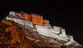 Palazzo del Potala nel Tibet Immagini Stock