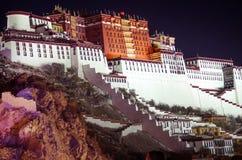 Palazzo del Potala nel Tibet, Cina Fotografie Stock