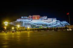 Palazzo del Potala nel Tibet, Cina Fotografia Stock Libera da Diritti
