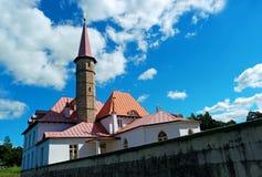Palazzo del Priory Gatcina La Russia Fotografia Stock Libera da Diritti