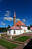 Palazzo del Priory Gatcina La Russia Immagini Stock Libere da Diritti
