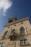 Palazzo del pubblico del San Marino Immagini Stock Libere da Diritti