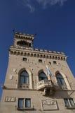 Palazzo del pubblico del San Marino Fotografie Stock