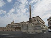 Palazzo del Quirinale in Rome Royalty Free Stock Photo