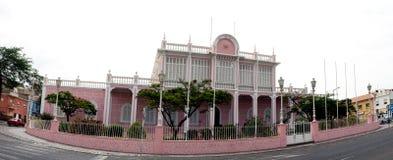 Palazzo del ` s della gente, sao Vicente, Mindelo Fotografia Stock