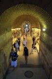 Palazzo del ` s di Diocleziano nella spaccatura Fotografia Stock