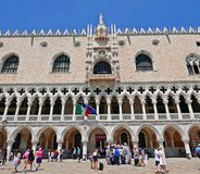 Palazzo del ` s del doge Fotografie Stock