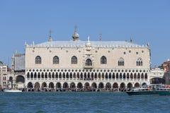 Palazzo del ` s del doge sulla piazza San Marco, Venezia, Italia Immagini Stock Libere da Diritti