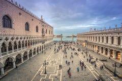 Palazzo del ` s del doge a Venezia, Italia immagini stock libere da diritti