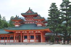 Palazzo del santuario di Heian Fotografie Stock