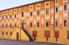 Palazzo del Seminario -圣米尼亚托 免版税库存图片