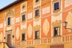 Palazzo del Seminario -圣米尼亚托 库存照片