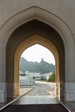 Palazzo del sultano, Oman Fotografie Stock Libere da Diritti