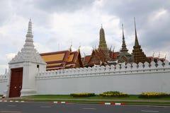 Palazzo del tempio pubblico del kaew di pra di Wat grande, Bangkok Tailandia Fotografia Stock Libera da Diritti