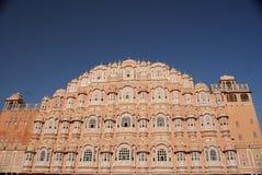 Palazzo del vento a Jaipur, Ragiastan Fotografie Stock