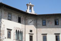Palazzo dell´Orologio. Clock´s Palace Royalty Free Stock Images