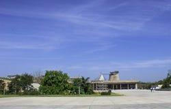 Palazzo dell'Assemblea o dell'assemblea legislativa, Chandigarh, India fotografia stock libera da diritti