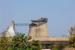 Palazzo dell'Assemblea o dell'assemblea legislativa, Chandigarh, India Immagine Stock Libera da Diritti