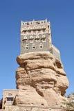 Palazzo dell'imam in wadi Dhar fotografia stock libera da diritti
