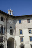 Palazzo dell'orologio,比萨 免版税库存图片