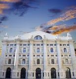 Palazzo della borsa di Milano Royalty Free Stock Images