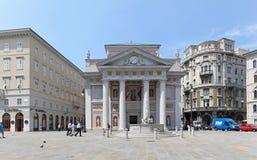 Palazzo della Borsa Vecchia Royalty Free Stock Images