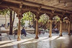 Palazzo della città di Udaipur Fotografie Stock Libere da Diritti