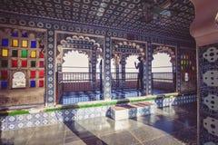 Palazzo della città di Udaipur Fotografie Stock